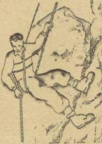 Рис. 12. Спуск Дюльфера