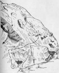 Змеиные скалы, маршрут № 12